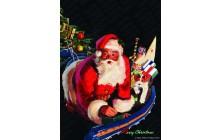 Santa and Train Set