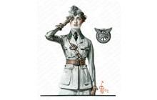 Motor Corps Woman