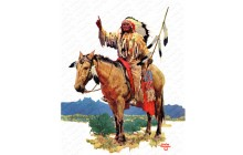 Indian Chief on Horseback