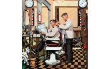 Barber Getting Haircut
