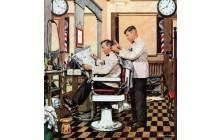 Barber Getting Haircut